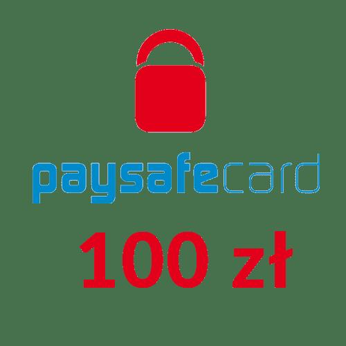 Paysafecard PIN PSC doładowanie  (100 zł)
