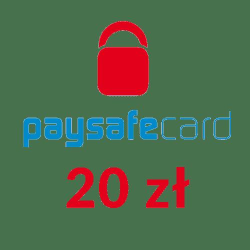 Paysafecard PIN doładowanie ( 20zł )