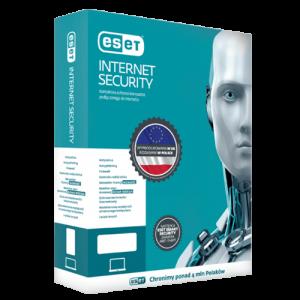 Eset Internet Security 2021 (Odnowienie licencji/ 1 stanowisko / 1 rok)
