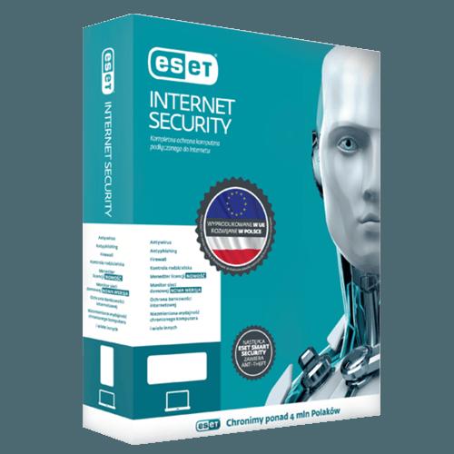 Eset Internet Security 2021 (Odnowienie licencji / 1 stanowisko / 3 lata)