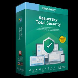 Kaspersky Total Security 2021 (Odnowienie licencji / 2 stanowiska / 1 rok)