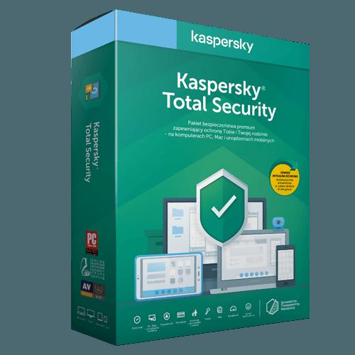 Kaspersky Total Security 2021 (Odnowienie licencji / 5 stanowisk / 1 rok)