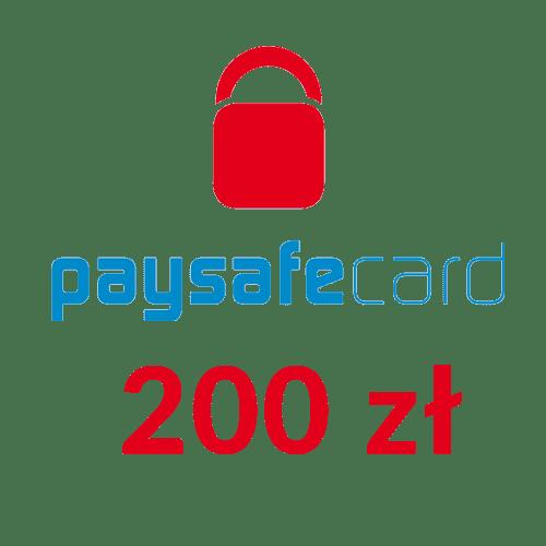 Paysafecard PIN PSC doładowanie (200 zł)