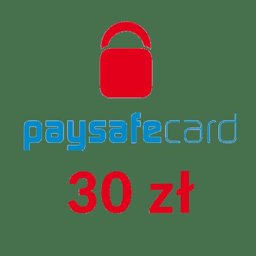 Paysafecard PIN PSC doładowanie (30 zł)