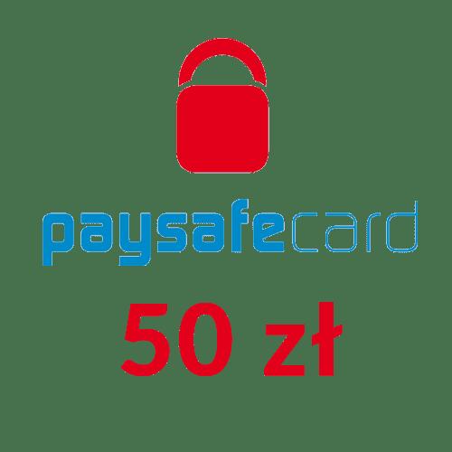 Paysafecard PIN PSC doładowanie (50 zł)