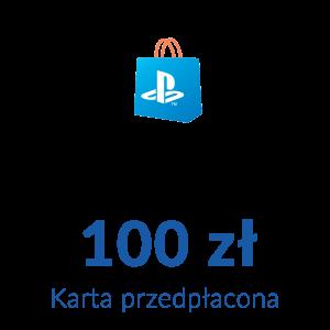 Playstation Network PSN - Karta przedpłacona (100 zł)