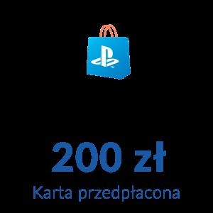 Playstation Network PSN - Karta przedpłacona (200 zł)