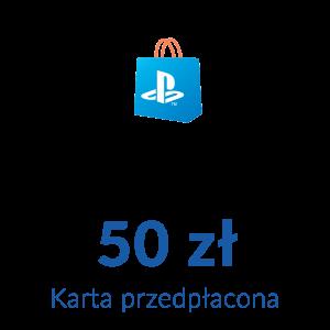 Playstation Network PSN - Karta przedpłacona (50 zł)