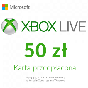 Xbox Live - Karta przedpłacona (50 zł)