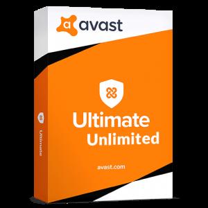 Avast Ultimate Unlimited 2021  (Nowa licencja / 10 stanowisk / 1 rok)