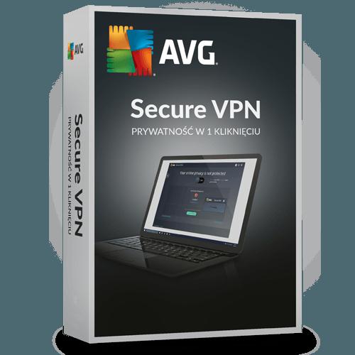 AVG Secure VPN 2021  (Nowa licencja / 5 stanowisk / 2 lata)