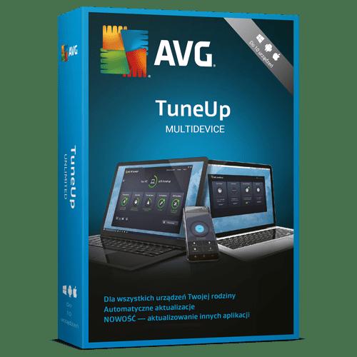 AVG TuneUp Multidevice 2021  (Nowa licencja / 10 stanowisk / 1 rok)