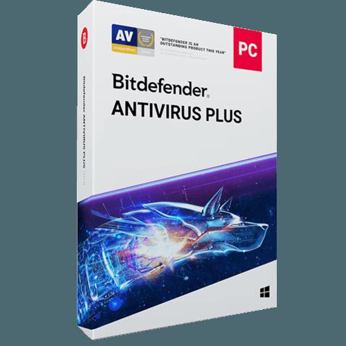 Bitdefender Antivirus Plus 2021 (Odnowienie licencji / 3 stanowiska / 1 rok)