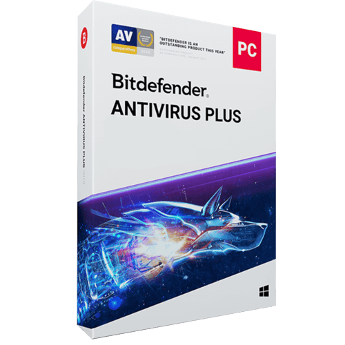 Bitdefender Antivirus Plus 2021 (Odnowienie licencji / 5 stanowisk / 3 lata)