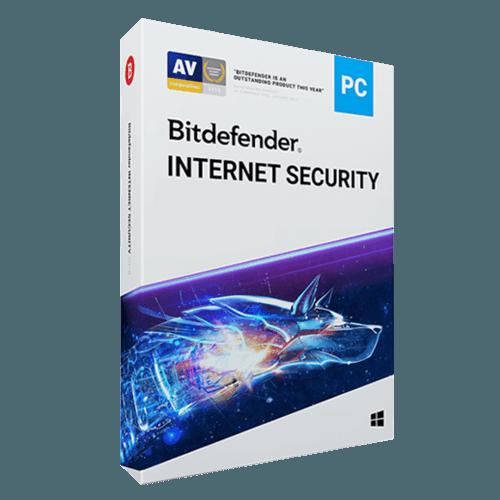 Bitdefender Internet Security 2021 (Nowa licencja / 10 stanowisk / 2 lata)