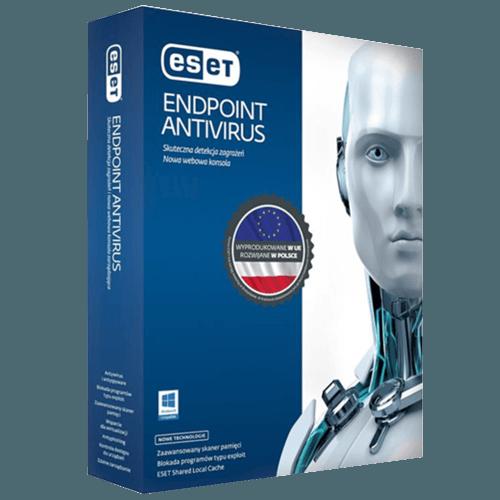Eset Endpoint Antivirus 2021 (Nowa licencja / 10 stanowisk / 3 lata)