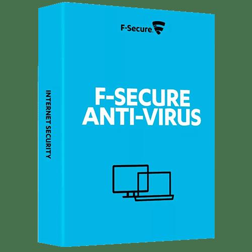 F-Secure Anti-Virus 2021 (Nowa licencja / 3 stanowiska / 2 lata)