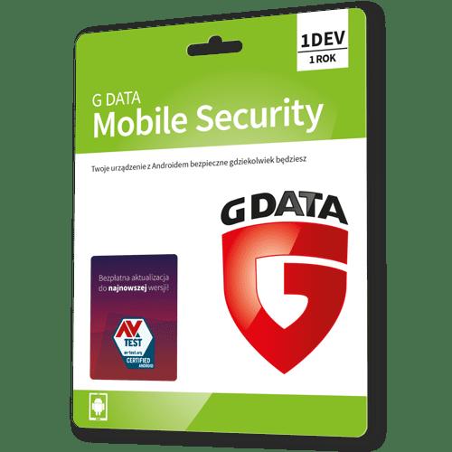 G data Internet Security Android 2021 (Nowa licencja / 1 urządzenie / 1 rok)