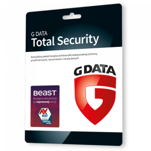 G data Total Security 2021 (Protection) (Nowa licencja / 1 stanowisko / 1 rok)