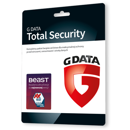 G data Total Security 2021 (Protection) (Nowa licencja / 3 stanowiska / 1 rok)