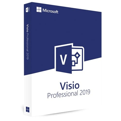 Visio 2019 Professional (Nowa licencja / 1 stanowisko / Wieczysta)