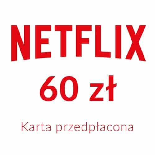 Netflix - Karta przedpłacona (60 zł)