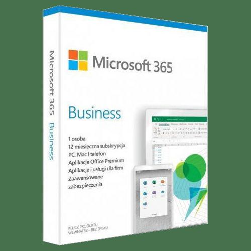 Microsoft Office 365 Business Premium Win / Mac (Nowa licencja / 5 stanowisk / 1 rok)
