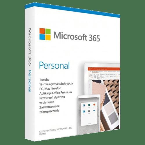 Microsoft Office 365 Personal Win / Mac (Nowa licencja / 1 stanowisko / 1 rok)