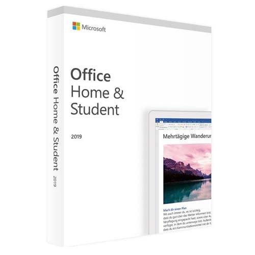 Office 2019 Home / Student  (Nowa licencja / 1 stanowisko / Wieczysta)
