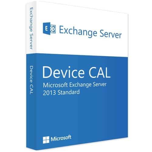 Microsoft Exchange Server 2013 Standard | 1 Device CAL (Nowa licencja / 1 stanowisko / Wieczysta)