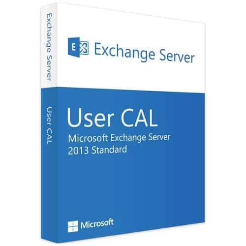 Microsoft Exchange Server 2013 Standard | 1 User CAL (Nowa licencja / 1 stanowisko / Wieczysta)