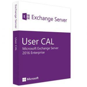 Microsoft Exchange Server 2016 Enterprise | 1 User CAL (Nowa licencja / 1 stanowisko / Wieczysta)