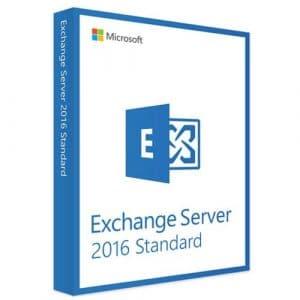 Microsoft Exchange Server 2016 Standard (Nowa licencja / 1 stanowisko / Wieczysta)