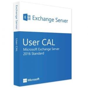 Microsoft Exchange Server 2016 Standard | 1 User CAL (Nowa licencja / 1 stanowisko / Wieczysta)