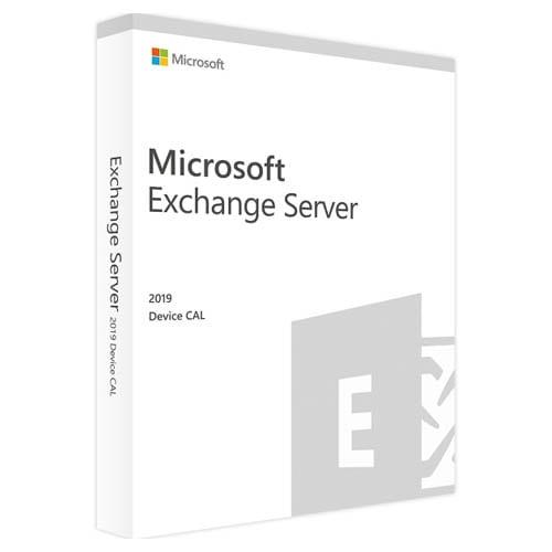 Microsoft Exchange Server 2019 Standard | 10 Device CALs (Nowa licencja / 1 stanowisko / Wieczysta)