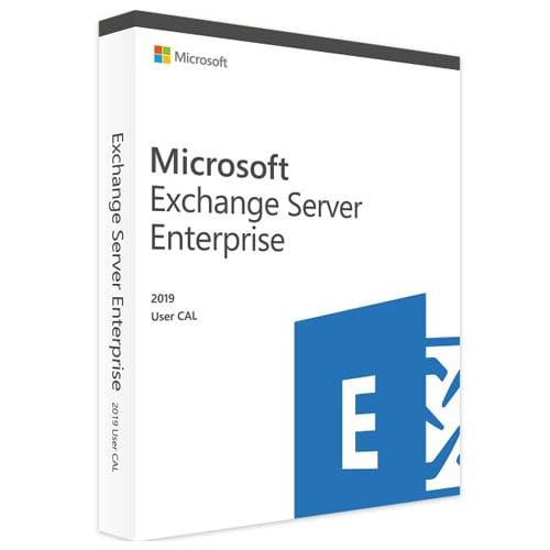 Microsoft Exchange Server 2019 Enterprise | 1 User CAL (Nowa licencja / 1 stanowisko / Wieczysta)