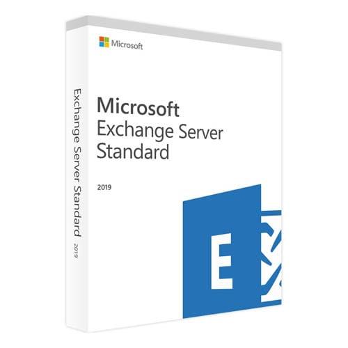 Microsoft Exchange Server 2019 Standard (Nowa licencja / 1 stanowisko / Wieczysta)