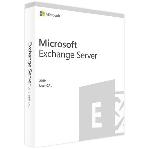 Microsoft Exchange Server 2019 Standard | 1 User CAL (Nowa licencja / 1 stanowisko / Wieczysta)