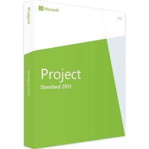 Project 2013 Standard (Nowa licencja / 1 stanowisko / Wieczysta)