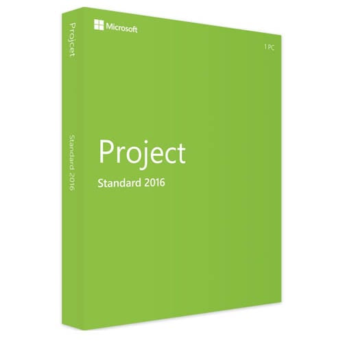 Project 2016 Standard (Nowa licencja / 1 stanowisko / Wieczysta)