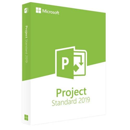 Project 2019 Standard (Nowa licencja / 1 stanowisko / Wieczysta)