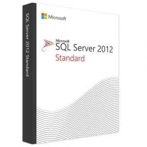 Microsoft SQL Server 2012 Standard (Nowa licencja / 1 stanowisko / Wieczysta)