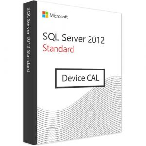 Microsoft SQL Server 2012 Standard   1 Device CAL (Nowa licencja / 1 stanowisko / Wieczysta)