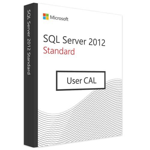 Microsoft SQL Server 2012 Standard | 10 User CALs (Nowa licencja / 1 stanowisko / Wieczysta)