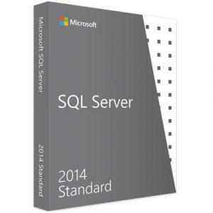 Microsoft SQL Server 2014 Standard (Nowa licencja / 1 stanowisko / Wieczysta)