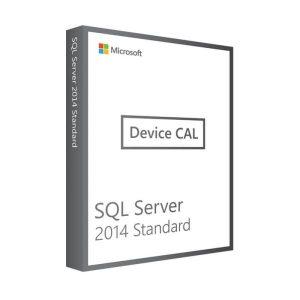Microsoft SQL Server 2014 Standard | 1 Device CAL (Nowa licencja / 1 stanowisko / Wieczysta)