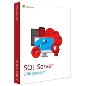 Microsoft SQL Server 2016 Standard (Nowa licencja / 1 stanowisko / Wieczysta)