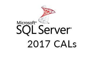 Microsoft SQL Server 2017 CALs
