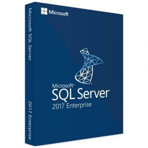 Microsoft SQL Server 2017 Enterprise (Nowa licencja / 1 stanowisko / Wieczysta)