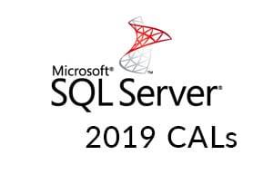 Microsoft SQL Server 2019 CALs
